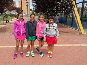 Imagen equipo femenino del campeonato alevín de madrid
