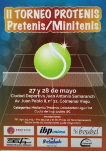 Cartel Torneo Peques 2017 Protenis Colmenar