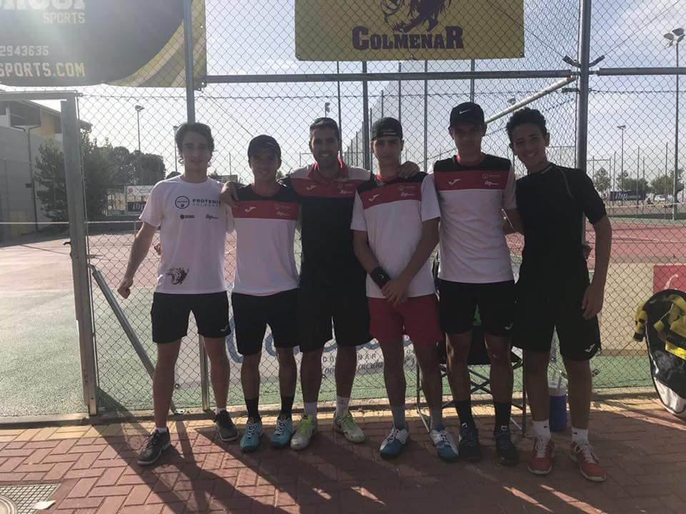 Subcampeones y ascenso de categoría en el Campeonato de Madrid Junior por Equipos