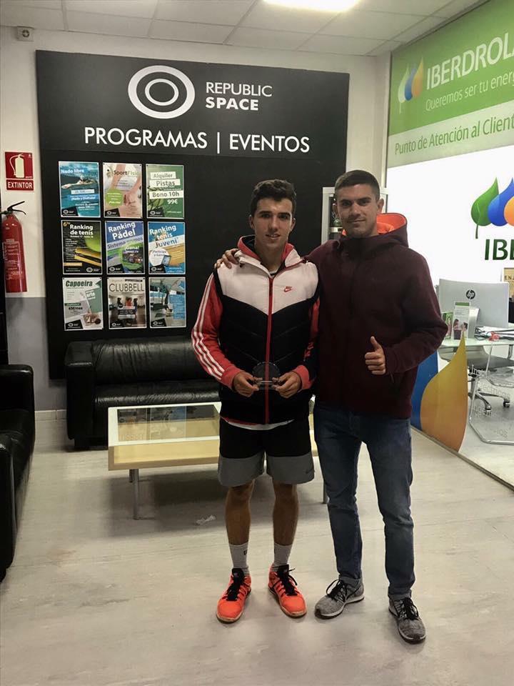 Guillermo Ramirez Subcampeón del XV Tº de Otoño – REPUBLIC SPACE. 2017