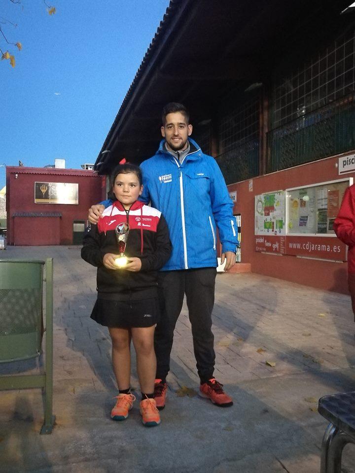 Marta González Sevilla brillante subcampeona del Torneo C.D. Jarama