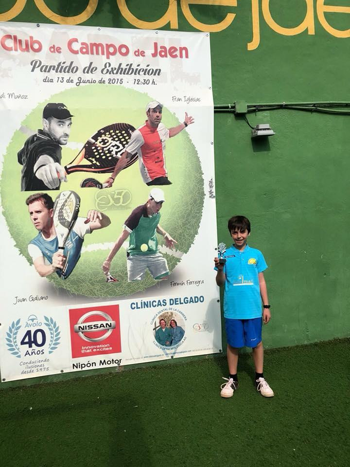 Iván Menéndez campeón del Torneo Club de Campo de Jaén