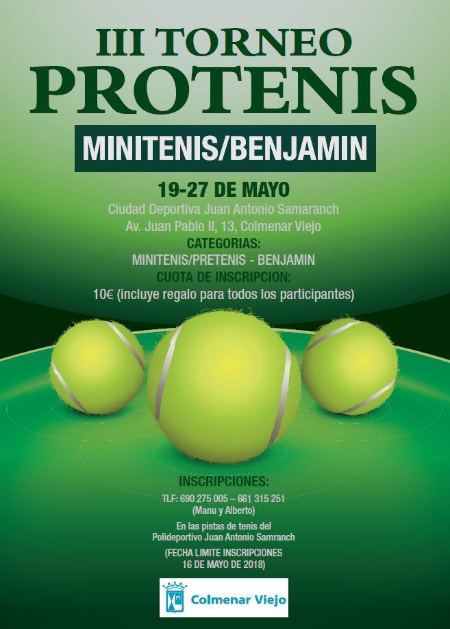 Cartel Torneo Peques
