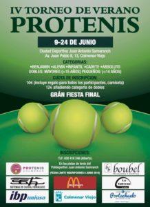 Cartel Torneo Verano 2018