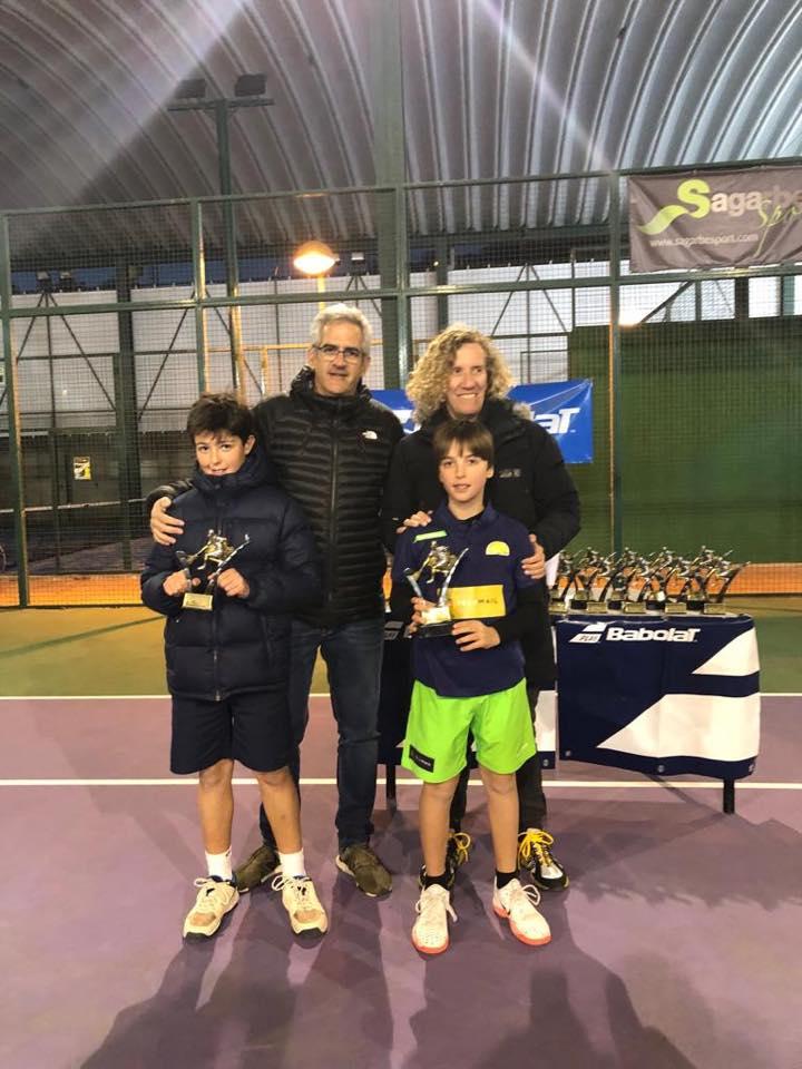 Jugadores de Protenis Colmenar campeones de Torneos federados
