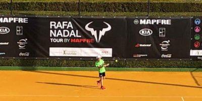 Iván Menéndez en el Torneo Rafa Nadal Tour en Sevilla