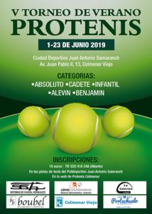 Cartel Torneo Verano 2019