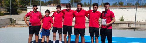 Equipos Liga y Campeonatos. El tenis juvenil de Colmenar Viejo