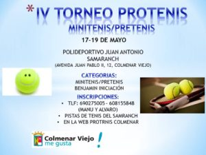 Imagen Torneo Peques PROTENIS COLMENAR