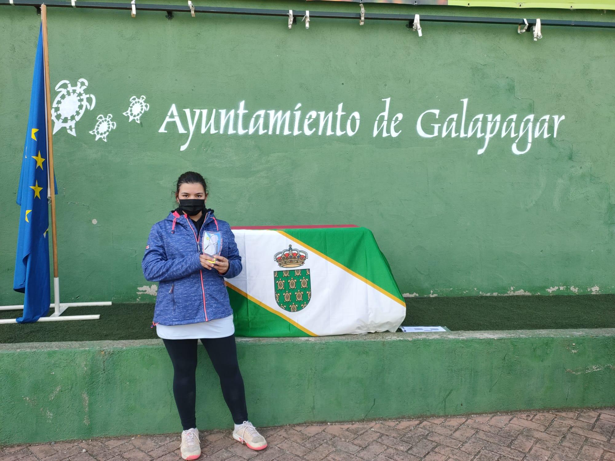 Campeona del Torneo Elite Tenis Galapagar