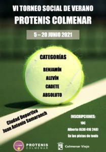 Cartel VI Torneo Social Verano
