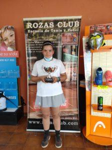 Marta en el Torneo Rozas Club