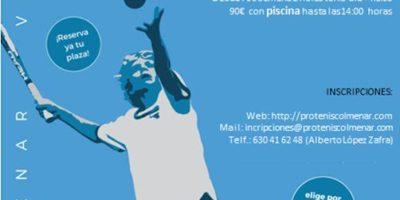 Campus Tenis VERANO Julio 2021